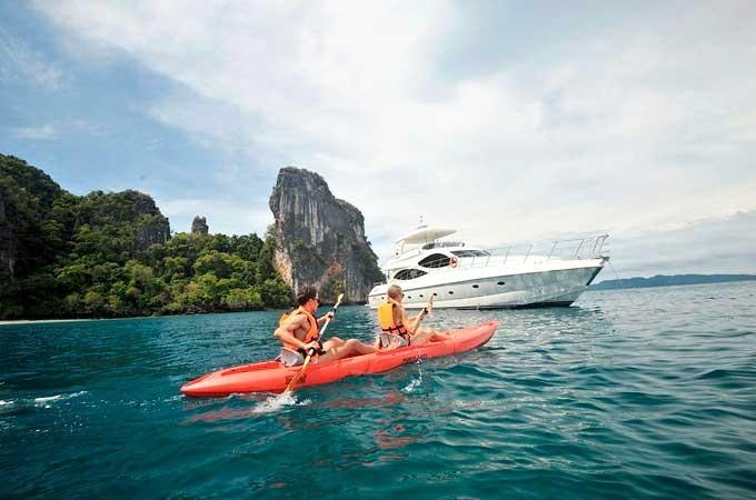 Yacht Lady Kathryn My Lamberti 80 Phuket Deluxe